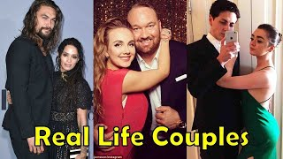Real Life Couples of Game of Thrones