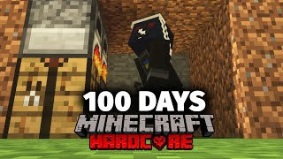 I Spent 100 Days being hunted in Minecraft and Here's What Happened