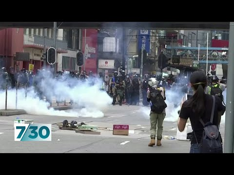 New security laws see demonstrators take to the streets of Hong Kong again | 7.30