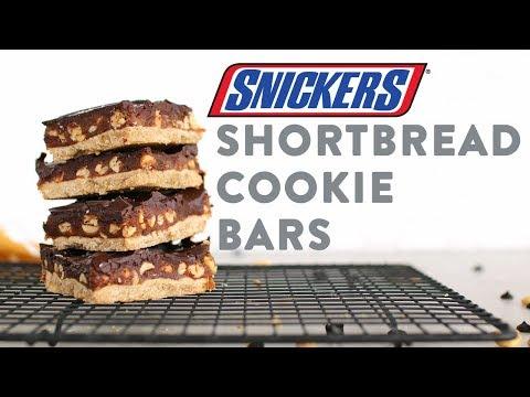 Chocolate Caramel Shortbread Bars | DIY Healthy Snickers