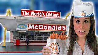 We visit The World's OLDEST McDonald's 🍟