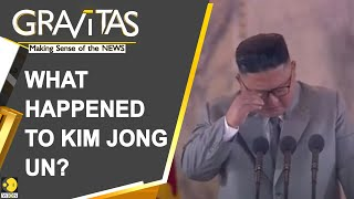 Gravitas: Why is Kim Jong Un crying in public?