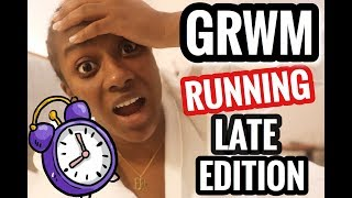 MY RUNNING LATE | GET READY WITH ME | CASUAL DAY IN NEW YORK CITY