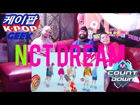 NCT DREAM_Chewing Gum MV & DEBUT STAGE REACTION