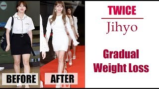 Twice Jihyo Weight Loss Story 2015 -2018