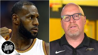 David Griffin sets the record straight on his LeBron James comments | The Jump