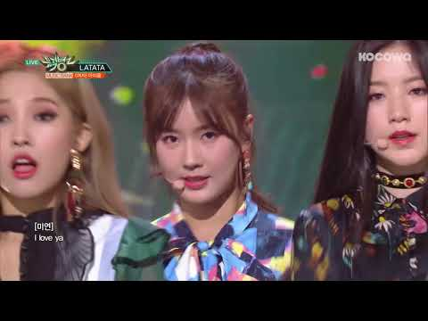 (G)I-DLE - Latata [Music Bank Ep 931]
