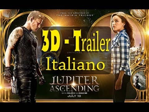 Jupiter Ascending Trailer Ufficiale in 3D ITALIANO FullSBS