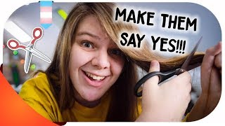 How to MAKE YOUR PARENTS say YES to a haircut!!! | FtM Transgender | Hannah Phillips Real