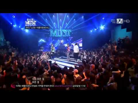 [MUST] SHINee(샤이니) - Lucifer + Beautiful + Dream Girl 'REMIX VER.' (13.03.26)「LIVE PERFORMANCE