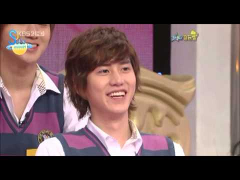 Kyuhyun likes Shinhwa's Andy! (Eng/Esp)