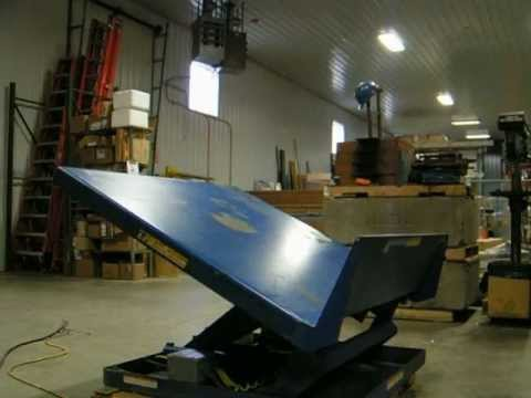 VESTIL Scissor Lift and Tilt Table UNI-TILT Model # UNI-5448-4