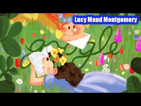 Lucy Maud Montgomery Google Doodle. 141st Birthday of Author of ''Anne of Green Gables''