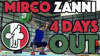 Mirco Zanni (69kg, 19y/o, Italy) - Full Training Session (June 14)