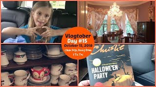 Vlogtober Day #15   October 15, 2018   Clean Dogs, Dining Room and Trending on Tic Toc