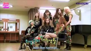 [130208] SNSD @ KBS Backstage Chat [ENG SUBBED]