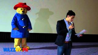 Xian Lim at the Celebrity Night Screening of the Movie Paddington
