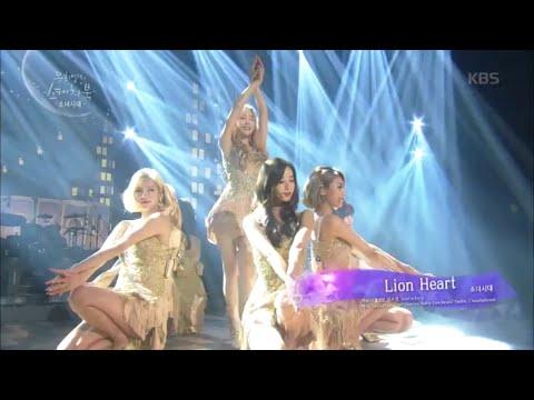 [Kbs world] 유희열의 스케치북-소녀시대 - Lion Heart.20150904