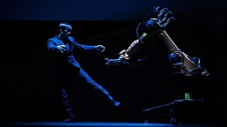 A human-robot dance duet   Huang Yi & KUKA