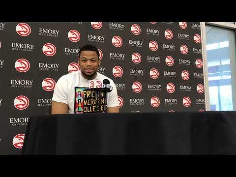 Atlanta Hawks' Omari Spellman Exit Interview