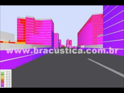 Mapeamento de ruído urbano: Viaduto do Minhocão -- Cidade de São Paulo