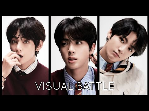 BTS VISUAL RANKING 2017 (MOST VOTED IN KOREA)