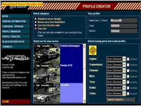 Save editor need for speed most wanted (2005) [download] youtube.