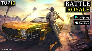 Top 10 New BATTLE ROYALE Games For Android 2021|High Graphics Battle Royale Games (Online/Offline)