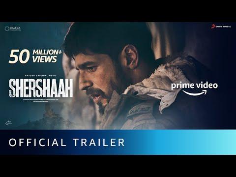 Shershaah official trailer- Sidharth Malhotra, Kiara Advani