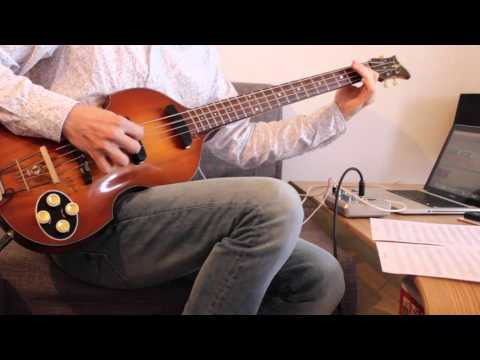 Starman - David Bowie -  Bass Line & Hofner 1956