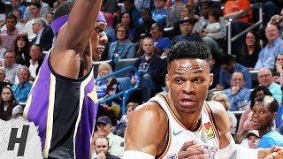 Los Angeles Lakers vs Oklahoma City Thunder - Full Highlights | April 2, 2019 | 2018-19 NBA Season