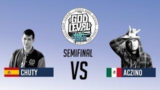 ACZINO VS CHUTY / SEMIFINAL / GOD LEVEL ARGENTINA