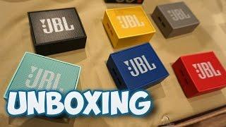 UNBOXING ENCEINTE BLUETOOTH JBL GO