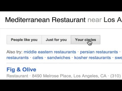 Google+ Local: See Reviews From Your Friends