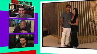 Jimmy Garoppolo Shows Major PDA with Woman Outside San Jose Bar   TMZ Sports