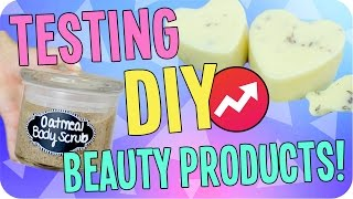 Testing DIY Buzzfeed Beauty Products! Cheap & Easy!