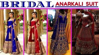BUY NOW Designer Bridal Anarkali Dress ll Online Shop ll www.prititrendz.com