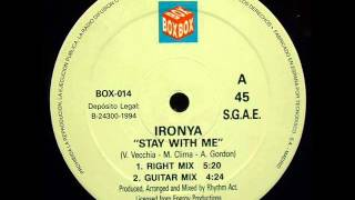 Ironya-Stay With Me (Guitar Mix)