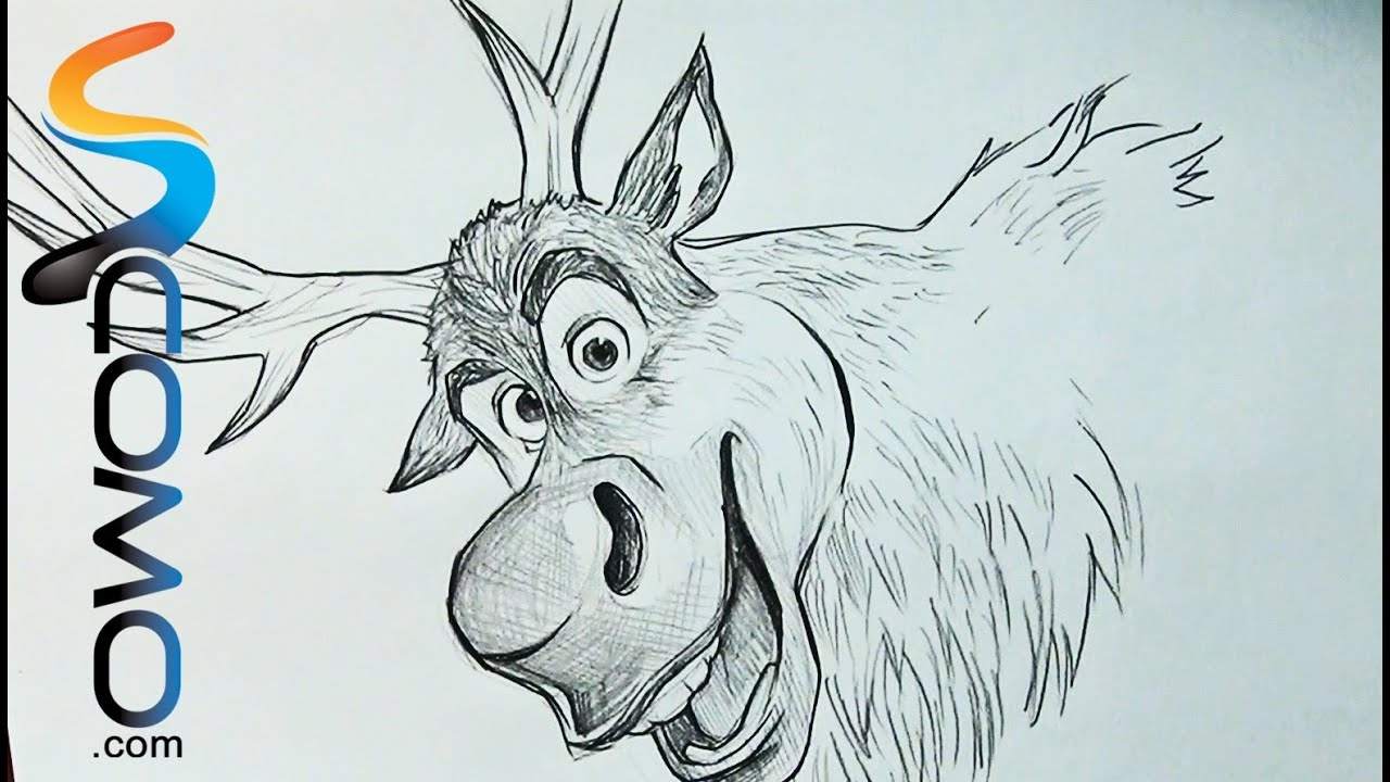 disney frozen sven drawing - photo #3
