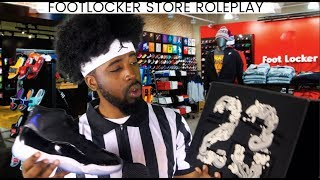 ASMR | Footlocker Roleplay | Which sneakers would you like? ~