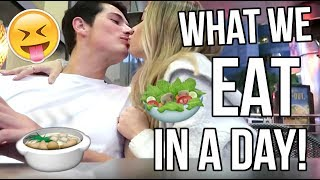 WHAT WE EAT IN A DAY!
