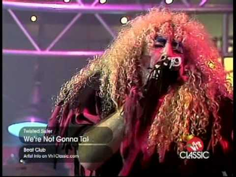 Twisted Sister - We're not gonna take It  (music video live)