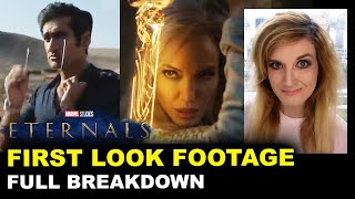 Marvel's Eternals Trailer - First Look Footage BREAKDOWN