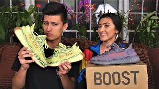 SISTER ROASTS MY ADIDAS YEEZY BOOST COLLECTION! (SAVAGE!)