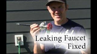 How to repair/replace an outdoor frost-free faucet