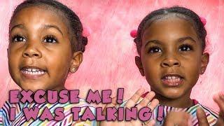 EXCUSE ME! I WAS TALKING | TWIN TALK