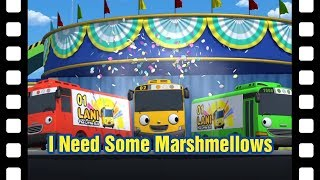 📽I need some marsh mellows! l Tayo's Little Theater #15 l Tayo the Little Bus