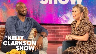 Kobe Bryant Sings 'Moana' For Kelly Clarkson