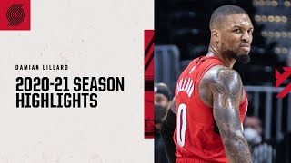 Damian Lillard 2020-21 Season Highlights   Trail Blazers