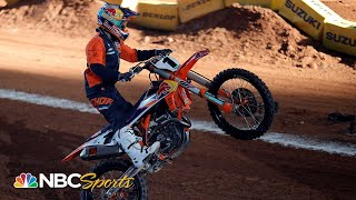 Supercross Round 17 at Salt Lake City | EXTENDED HIGHLIGHTS | 5/1/21 | Motorsports on NBC
